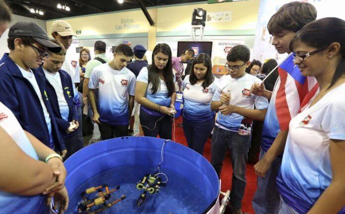 Alumnos de la Academia San Agustín y Espíritu Santo en Sabana Grande y el Liceo Ponceño en Ponce participarán del 2016 MATE ROV International Competition