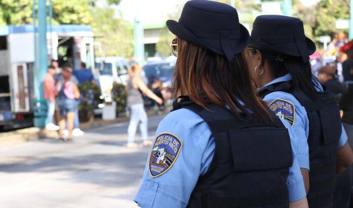 Agentes de la Policía Estatal.