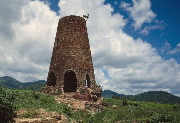 Molino Vives en Guayama. (Biblioteca del Congreso de Estados Unidos / Jack Boucher)