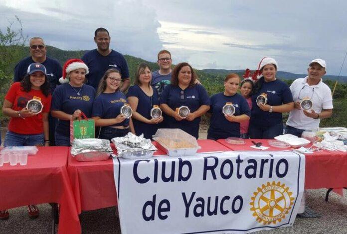 Integrantes del Club Rotario de Yauco han realizado varios esfuerzos para aportar a la reconstrucción de la región sureña.