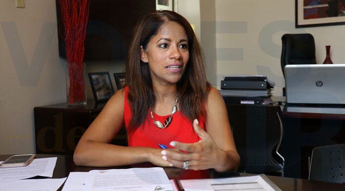 Karilyn Bonilla Colón, alcaldesa de Salinas. (Voces del Sur)