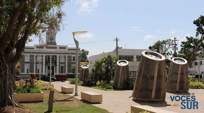 Plaza pública de Salinas. (Voces del Sur)