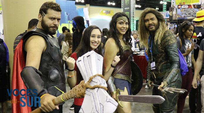 Muchas personas fueron vestidas de superhéroes al Puerto Rico Comic Con.