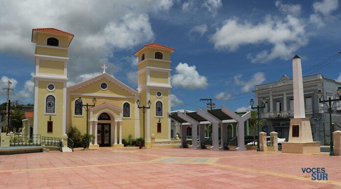 Plaza pública Juan E. Ramírez Ortiz de Lajas. (Voces del Sur)