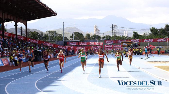 Las Justas de Atletismo de la LAI se llevan a cabo en el estadio Francisco
