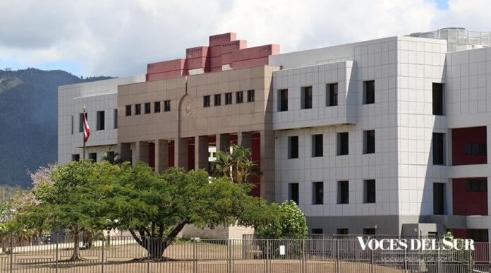 Centro Judicial de Guayama. (Voces del Sur)