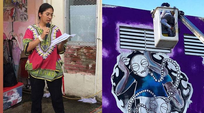 Ketsia Ramos declamará su poesía y Rachel Smith Sepúlveda presentará su mural. (Instagram / cceditorial / artemania0)