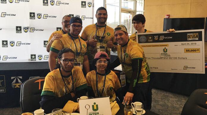 Un grupo de estudiantes de Inter Ponce y la Academia Ponce Interamericana obtuvo el primer lugar en una competencia de diseño de drones celebrada en la ciudad de El Paso, Texas. (Suministrada)