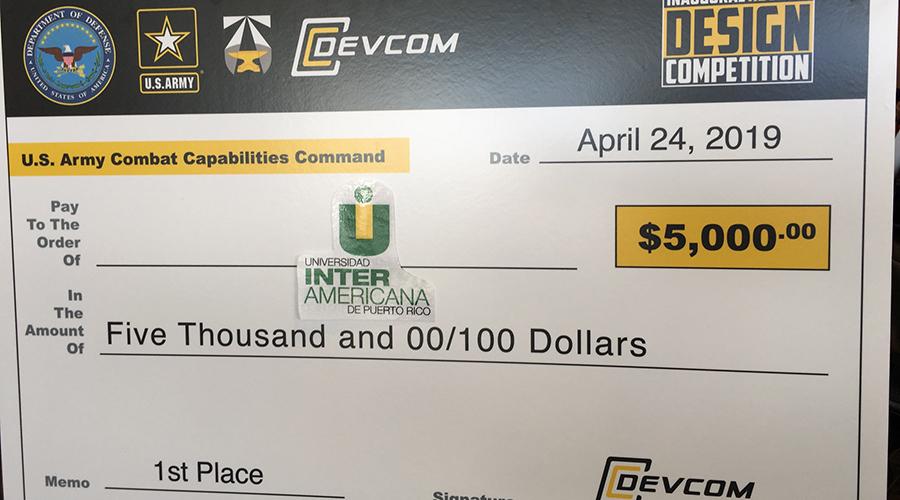 Los estudiantes fueron premiados con $5,000. (Suministrada)