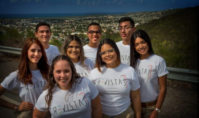 Revista J está compuesto por estudiante de comunicaciones del recinto de Ponce de laUniversidad Interamericana de Puerto Rico. (Para Voces del Sur / Gary Gutiérrez Renta)