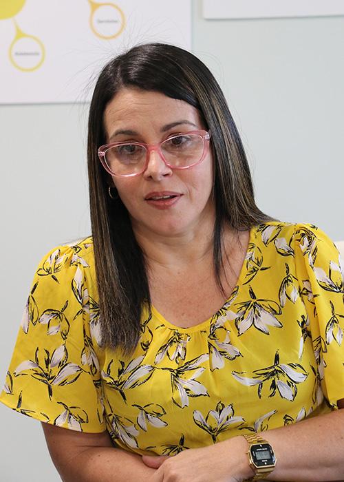 Raquel González, directora del departamento de ciencias de la salud de Inter Ponce.
