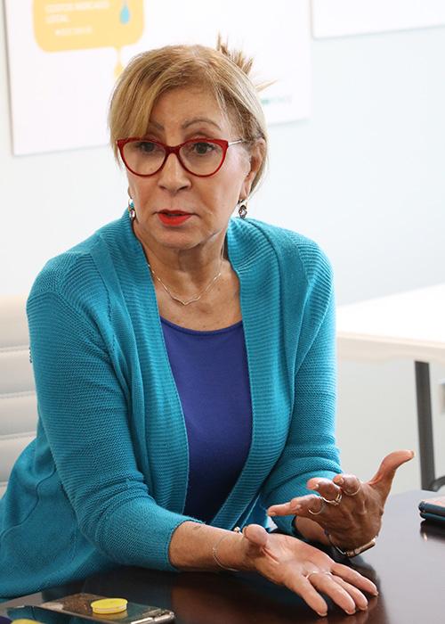 Vilma Colón, rectora del Recinto de Ponce de la Universidad Interamericana de Puerto Rico.