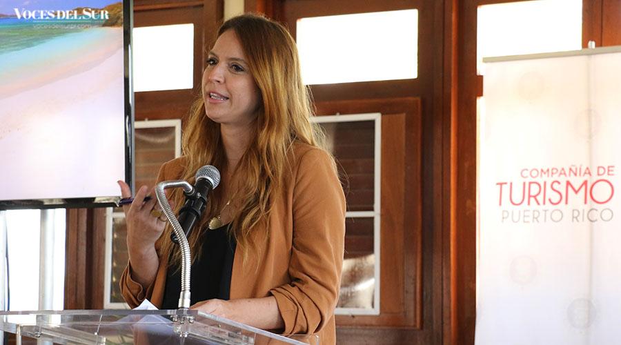 Imaris Arocho, directora de mercadeo de la Compañía de Turismo de Puerto Rico.