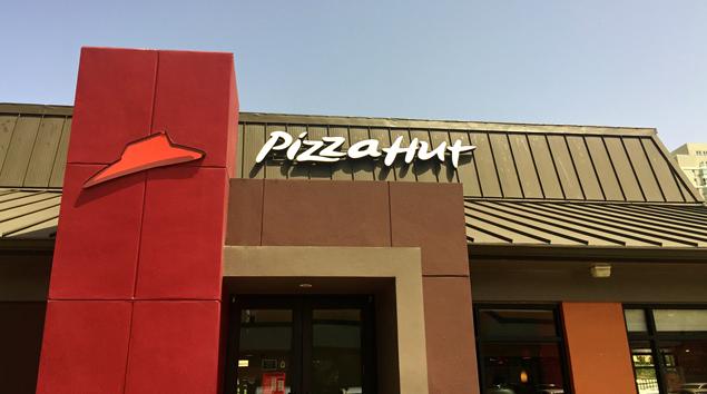 Restaurante Pizza Hut.