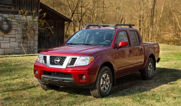 Edición 2020 de la Frontier de Nissan.