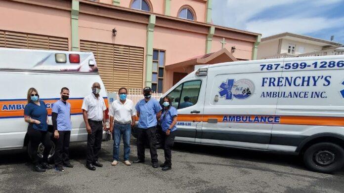 Como parte del acuerdo entre los municipios de Patillas y Maunabo, se contrató la compañía de ambulancias Frenchy's. (Suministrada)