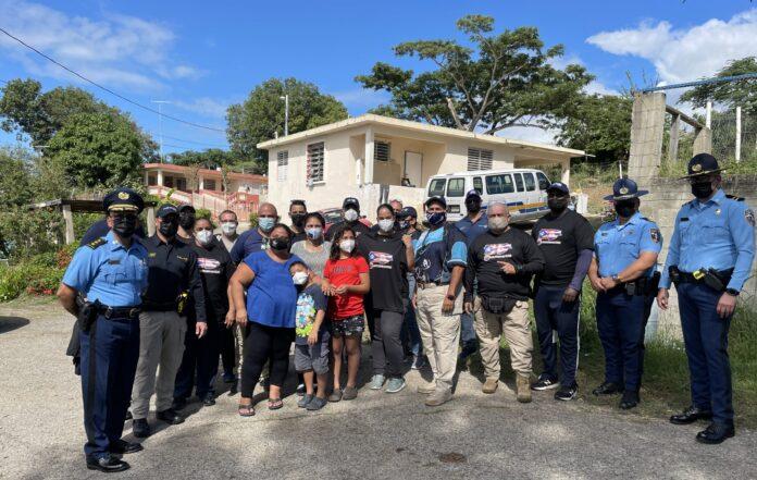 El grupo consiguió donativos de enseres eléctricos, camas y otros artículos del hogar.