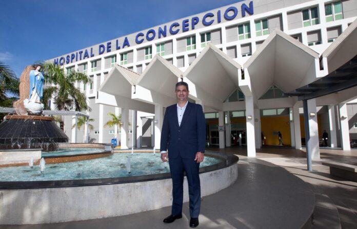 Edgar Crespo Campos, administrador del Hospital de la Concepción en San Germán.