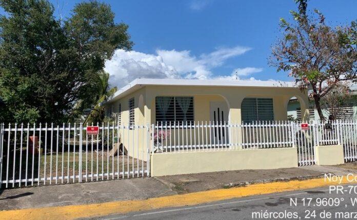 Residencia en Salinas rehabilitada por One Stop Career Center of Puerto Rico.