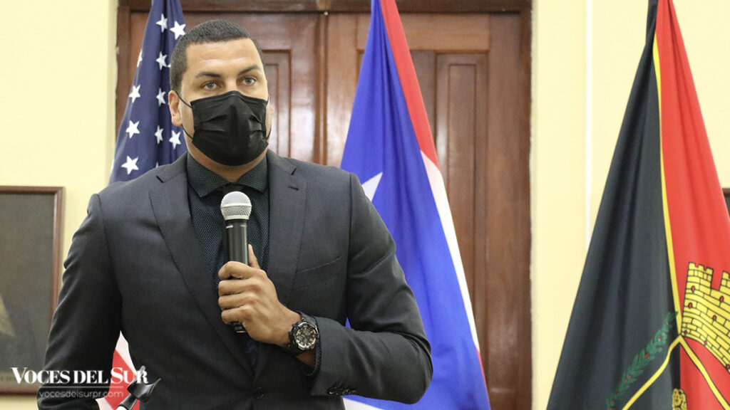 Orlando Meléndez, director del Departamento de Recreación y Deportes. (Voces del Sur / Pedro A. Menéndez Sanabria)