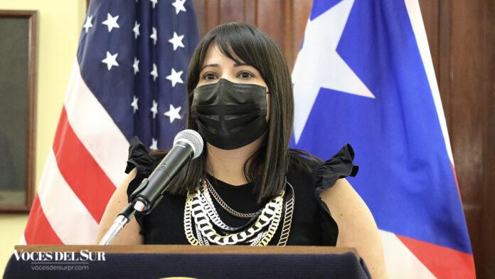 Heidi Dilán, directora de la Oficina de Reconstrucción del Municipio de Ponce. (Voces del Sur / Pedro A. Menéndez Sanabria)