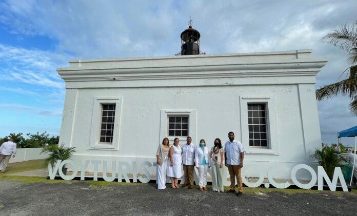 La presentación de la campaña This is Maunabo tuvo lugar en el Faro Punta Tuna. (Suministrada)