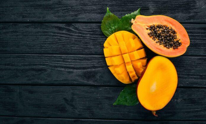 mangó y la papaya