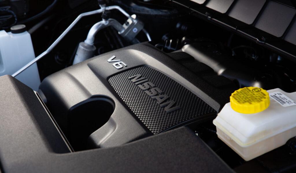 Motor de la Pathfinder 2022 de Nissan.